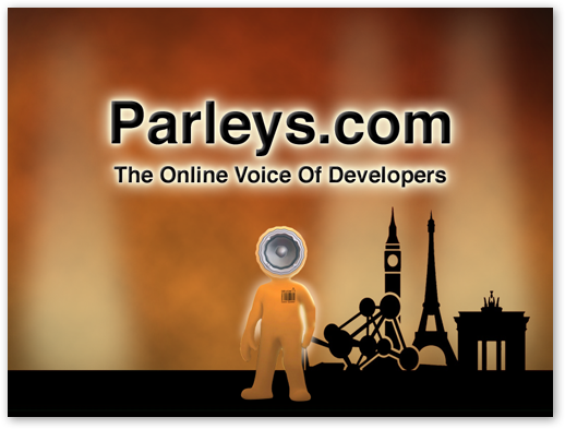 Devoxx/Parleys.com Intro Video in JavaFX