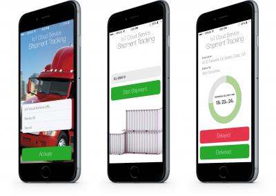 Shipment Tracking Mobile App