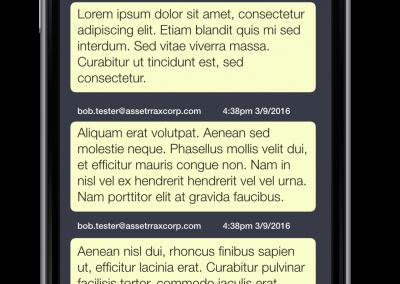 AM16 Incident Comments