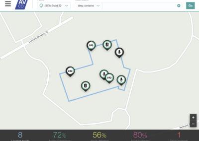 Asset Monitoring Map