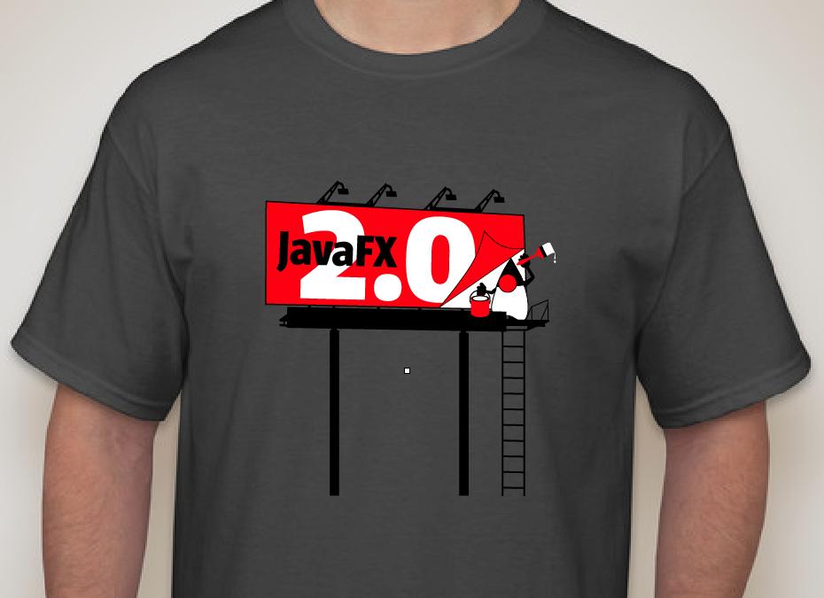 JavaFX 2.0 T-Shirts