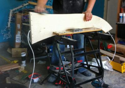 Sanding Prototype Legs