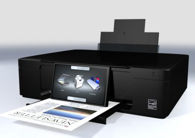 JavaFX Embedded Printer UI