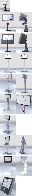 Kiosk 3D Designs